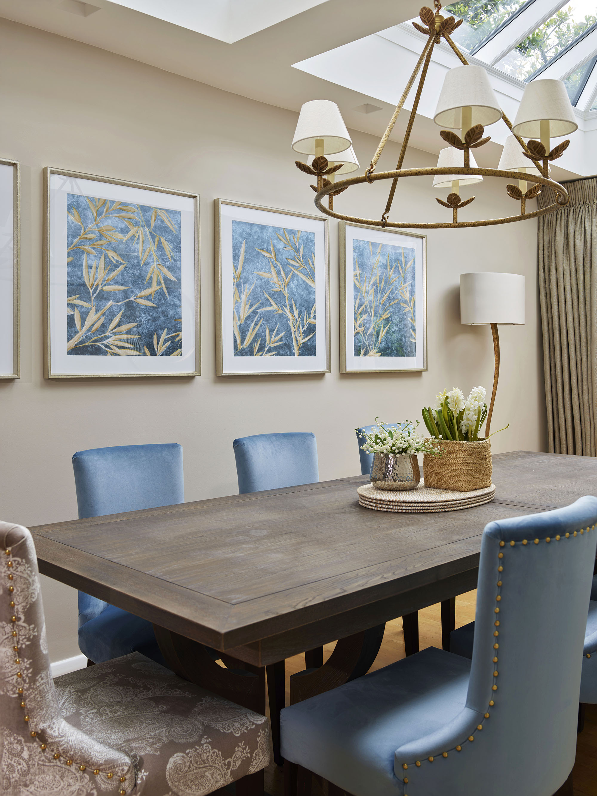 Chelsea Townhouse Dining Room Wall Art