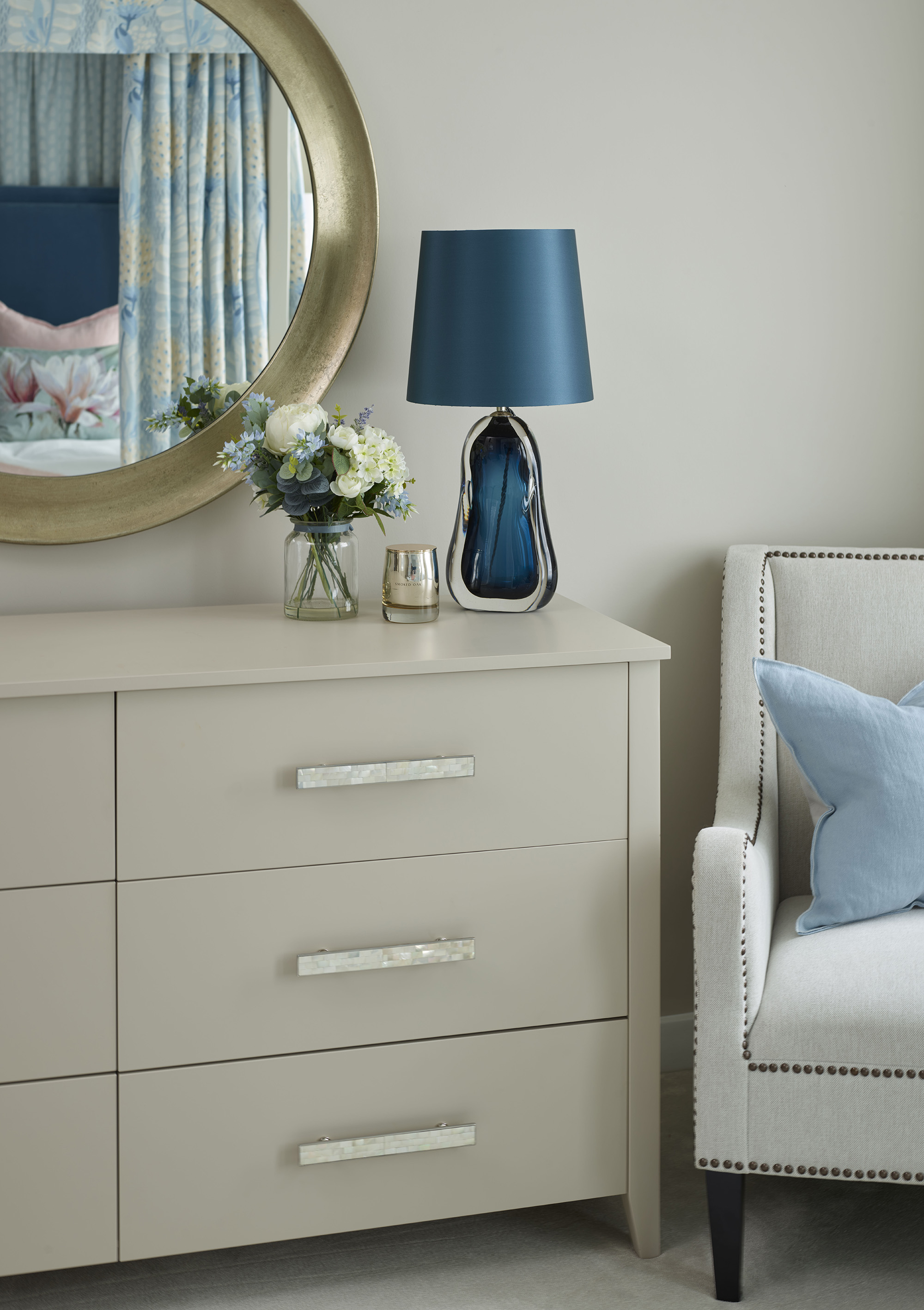 Chelsea Townhouse Master Bedroom Drawers
