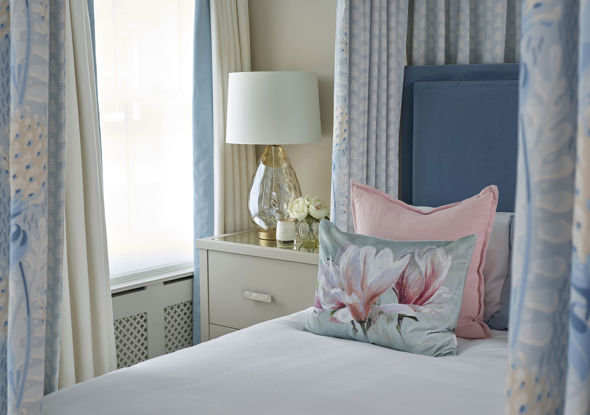 Chelsea Townhouse Bedroom Cushions