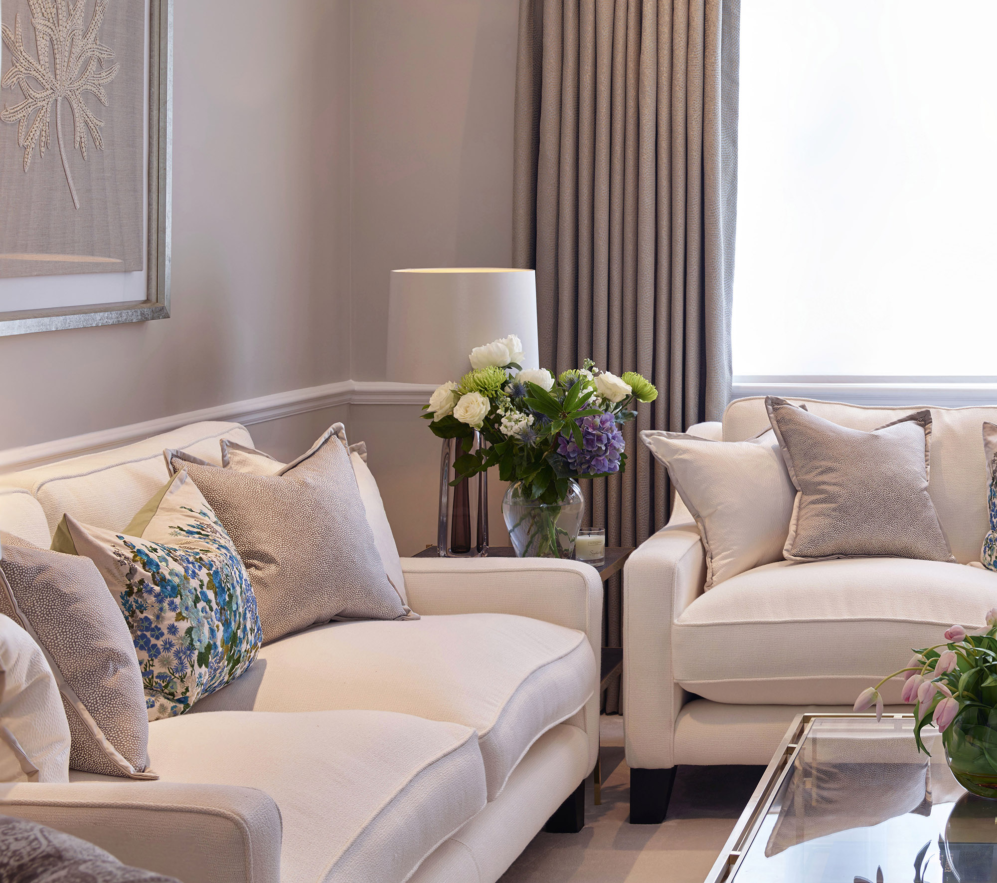 Chelsea Townhouse Sofa and Chairs