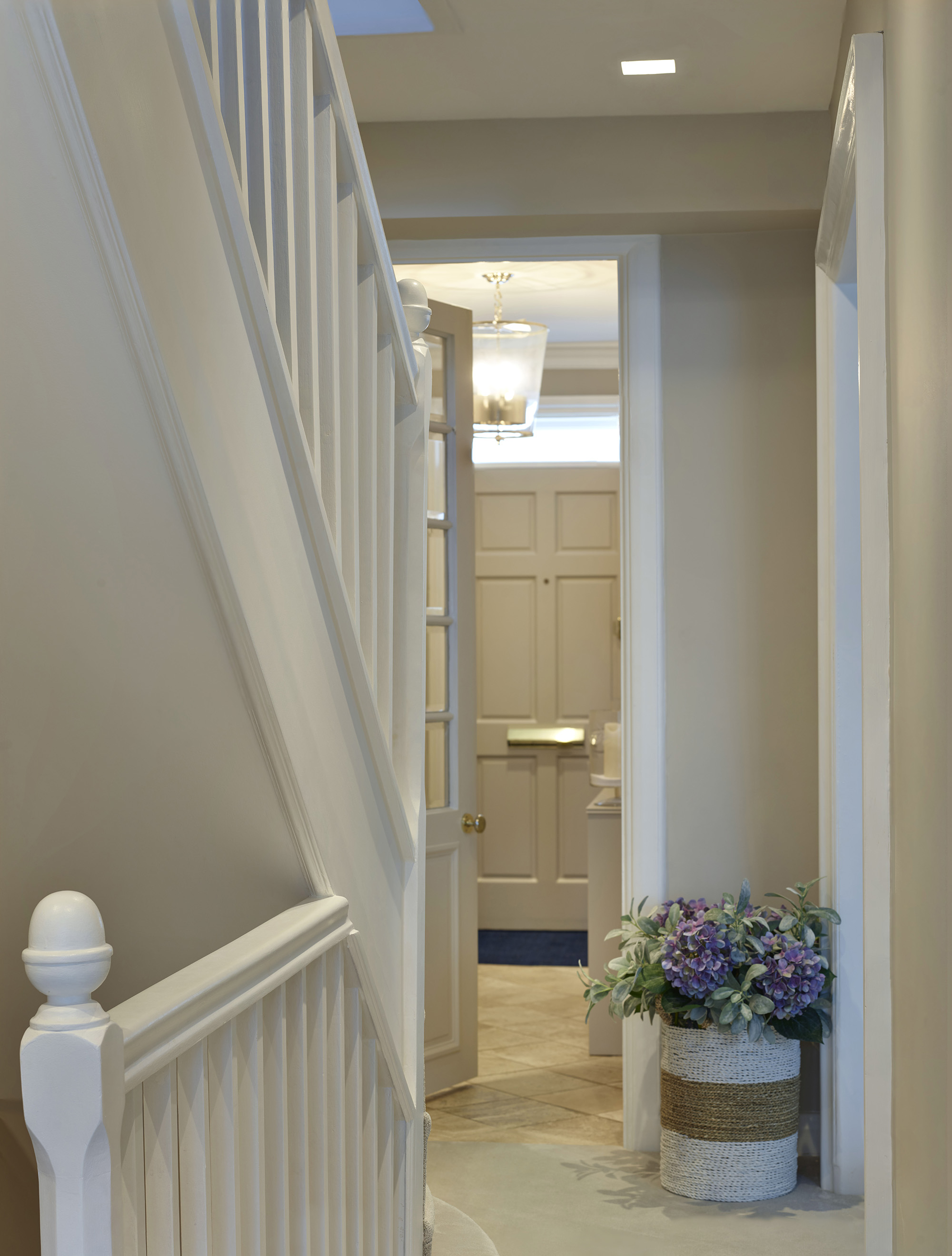 Chelsea Townhouse Entrance Hall